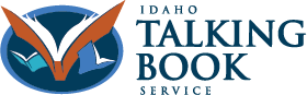 The Idaho Commission for Libraries Talking Book Service icon