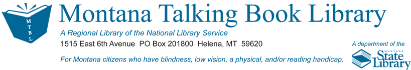The Montana Talking Book Library icon